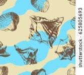 seamless pattern background of... | Shutterstock . vector #625805693