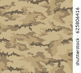seamless camouflage pattern....   Shutterstock .eps vector #625806416