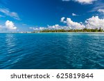 tropical sea surface with soft... | Shutterstock . vector #625819844