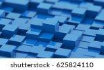 cube constructor  3d rendering... | Shutterstock . vector #625824110