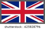 flag of united kingdom  british ... | Shutterstock .eps vector #625828796