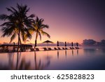Tropical Beach Resort With...