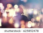 crowd  happy people enjoying...   Shutterstock . vector #625852478
