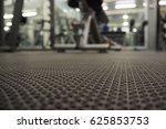 rubber weight mat. gym mat | Shutterstock . vector #625853753