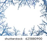 Crystal Blue Tree Frame 3d...
