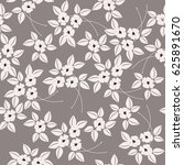seamless pattern with cute... | Shutterstock .eps vector #625891670