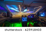 the man drive a vehicle on the... | Shutterstock . vector #625918403