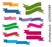 banner icons set  | Shutterstock .eps vector #625924589