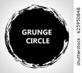 grunge circle. | Shutterstock .eps vector #625950848