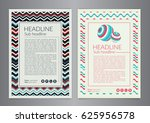 multipurpose flyer layout with...   Shutterstock .eps vector #625956578
