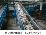 waste processing plant.... | Shutterstock . vector #625974494