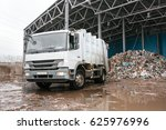 waste processing plant....   Shutterstock . vector #625976996