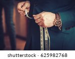 tailor in his workshop | Shutterstock . vector #625982768