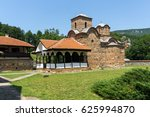 panoramic view of medieval... | Shutterstock . vector #625994870