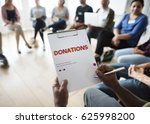 donation community service... | Shutterstock . vector #625998200