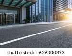 clean urban road with modern... | Shutterstock . vector #626000393