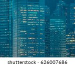 skyscraper building and sky view | Shutterstock . vector #626007686