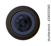 camera photo lens equipment...   Shutterstock .eps vector #626033360