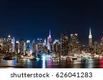 New York Night View From...