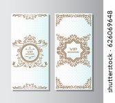 invitation background flyer...   Shutterstock .eps vector #626069648