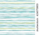 waves seamless pattern. hand... | Shutterstock .eps vector #626070803