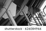 steel frame   Shutterstock . vector #626084966