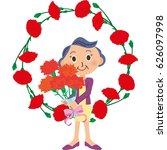mother's day grandmother | Shutterstock .eps vector #626097998