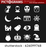 Halloween Vector Icons For Use...