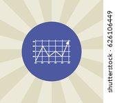 line graph icon. sign design....
