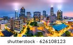 Aerial View Of Charlotte  Nc...