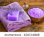 lavender flowers extract spa... | Shutterstock . vector #626116868