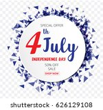 american independence day of...   Shutterstock .eps vector #626129108