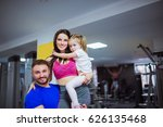 photo of happy sports family ...   Shutterstock . vector #626135468