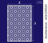 laser cut vector panel  islamic ... | Shutterstock .eps vector #626150024