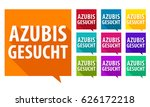 azubis gesucht   we need you.... | Shutterstock .eps vector #626172218