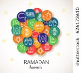 ramadan kareem background. eid...   Shutterstock .eps vector #626173610