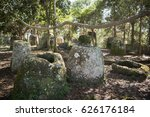 the plain of jars site 2 in the ... | Shutterstock . vector #626176184