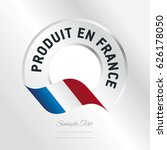 french product  french language ... | Shutterstock .eps vector #626178050