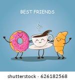 morning breakfast. best... | Shutterstock .eps vector #626182568