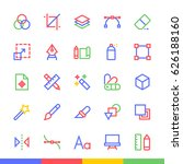 design material design modern... | Shutterstock .eps vector #626188160