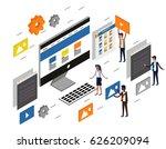 computer desktop ui ux web...