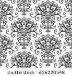 vector illustration seamless... | Shutterstock .eps vector #626220548