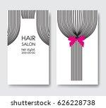 template design business card... | Shutterstock .eps vector #626228738