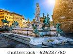 fountain neptune in piazza...