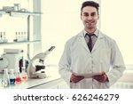 handsome medical doctor in... | Shutterstock . vector #626246279