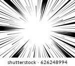 comic and manga books speed... | Shutterstock .eps vector #626248994