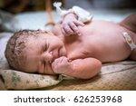 first day of the newborn | Shutterstock . vector #626253968