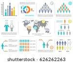 vector modern business...   Shutterstock .eps vector #626262263