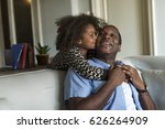 african descent family house... | Shutterstock . vector #626264909