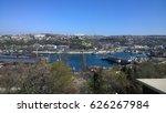 sevastopol harbor view in spring | Shutterstock . vector #626267984
